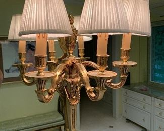 Pair of sconces $350