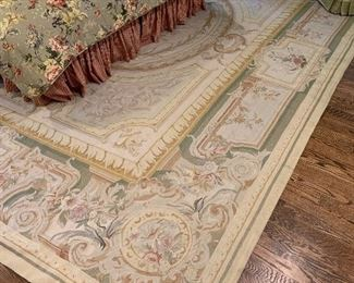Aubusson carpet in excellent condition $2800