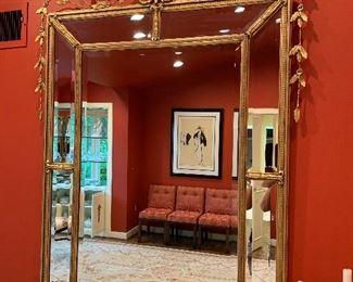 "Mirror in excellent condition - 64""x41"" - $1200"