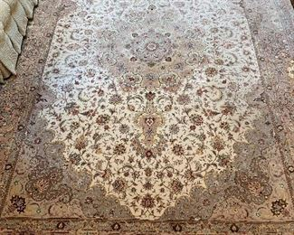 "Area wool carpet in good condition 8'9""x11'10"" - Price $2400"