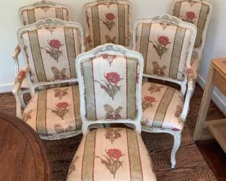 Set of six chairs in excellent condition.  $850