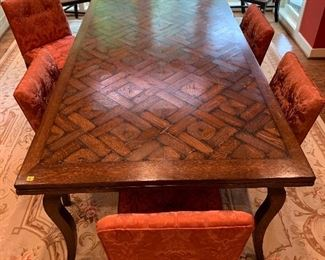 "Dining table with built in extensions in good condition.  Dimensions 84""x42""x30"".  Price $950"