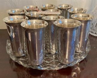 Revere Silversmiths Sterling Mint Julep Cups (12)
