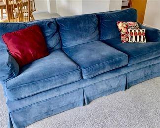Wonderful blue sofa 250.00