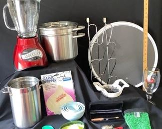 A Blender of Kitchen Accessories