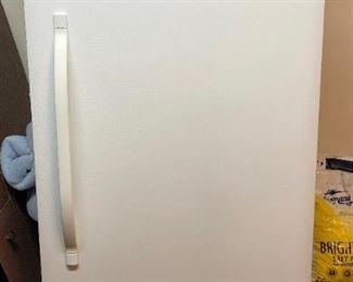 """Kenmore freezer, 60.5""""x28""""x28"""". Model no. 253.28432809; serial no. WB25159495."""