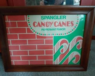spangler candy poster. old