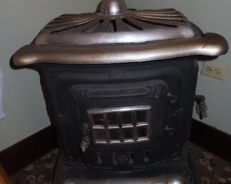 Antique Pot Belly Stove