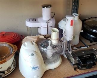 Food Processor and Juicers