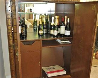 Drexel Chinoiserie Bar - Cabinet - $750