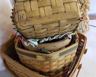 Longaberger Basket Assortment