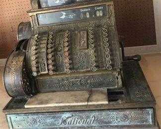Rare, Antique National Cash Register