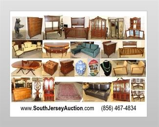 June 28th Fantastic online auction!  www.SouthJerseyAuction.com