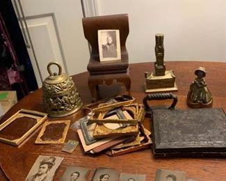 Bells, Tintypes, Frame Parts