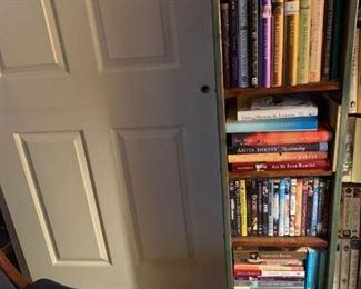 Bookshelf, Books, DVDs