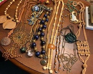 Large Lot of Funky Necklaces