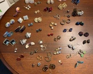 Loads of Earrings and 2 Rings