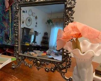 Mirror and Vase