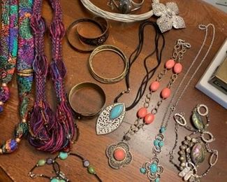 Necklaces Bracelets and Rings