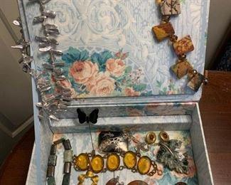 Necklaces, Bracelets, Earrings, Pin