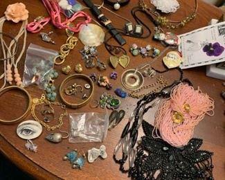 Pins, Bracelets, Earrings, Tiara