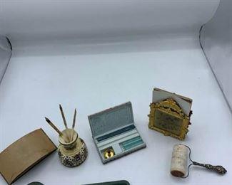 Vintage and Antique Desk Items