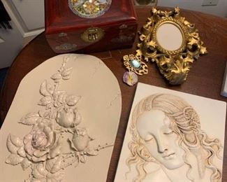 Wall Art and Jewel Box