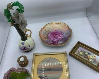 Watercolor, Porcelain, Trinket Box