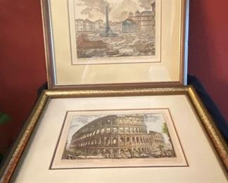 007 Rome Colosseum and other Italy Prints