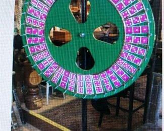 Standing Carnival Wheel (Steel Stand) $320.00