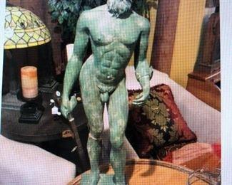Bronze Roman Figure $380.00