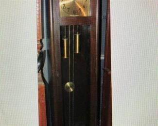 Colonial MFG. Co. Arts and Crafts Tall Clock $410.00 (item located in storage, please contact if interested and we will arrange for the item to be on-site the day of the sale)