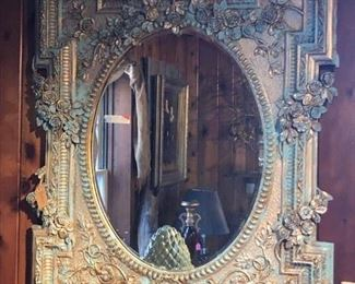 French Provincial Style Mirror, $410.00