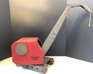 """Vintage """"Magnetic Crane""""  $90.00"""