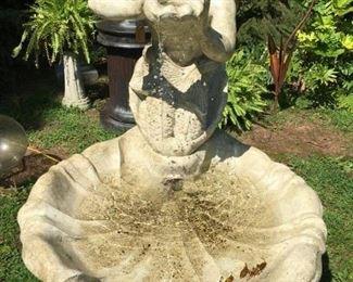 Fiberglass Fountain, Neptune $1320.00
