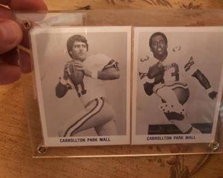 Lot 17  Dallas Cowboys Promo Cards   $10