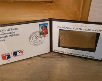 Lot 25  Willie Mays Booklet   $10
