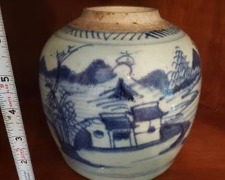Lot 30   Antique Chinese Jar   Very Old   $40