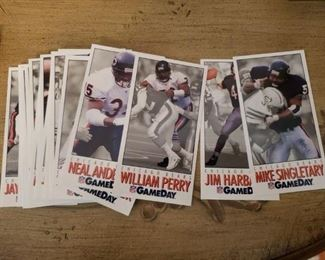 Lot 38   Chicago Bears 23 Card Team Set with The Frig  $10