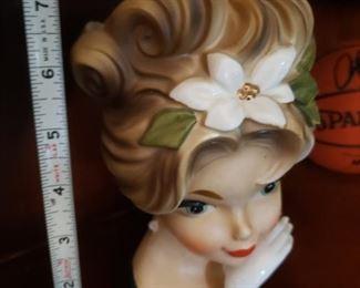 Lot 44    Rare Inarco Head Vase     $75