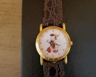 Lot 54   Vintage Pinnochio Watch  $20