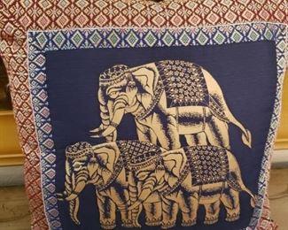 Lot 74 Elephant Pillow.........$5