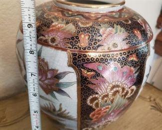 Lot 79      Satsuma Vase   $40
