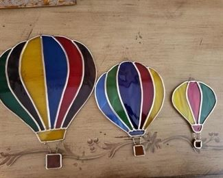 Lot 94   Stain Glass Hanging Balloons   $10 all