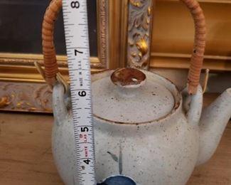 Lot 116 Japanese Stoneware Teapot   $15
