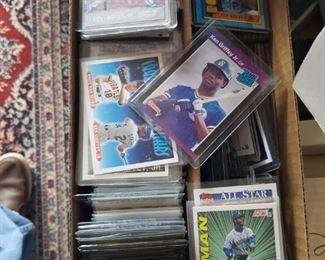 #144      $175   Lot of about 200 Ken Griffey Jr. Baseball Cards