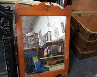 """Vintage Country Western Style Mirror 21.5""""w x 32""""H   $65"""