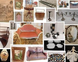 collage Talty auction