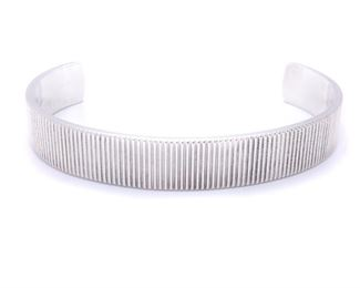 Tiffany & Co Bangle in Sterling Silver; Box Included - $450