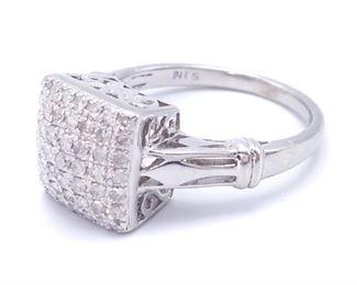 Ladies .60++ Carat Diamond Estate Ring